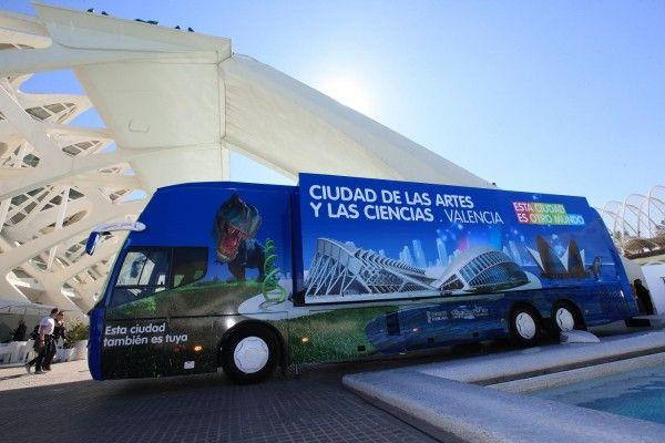 Bus Valencia Museum