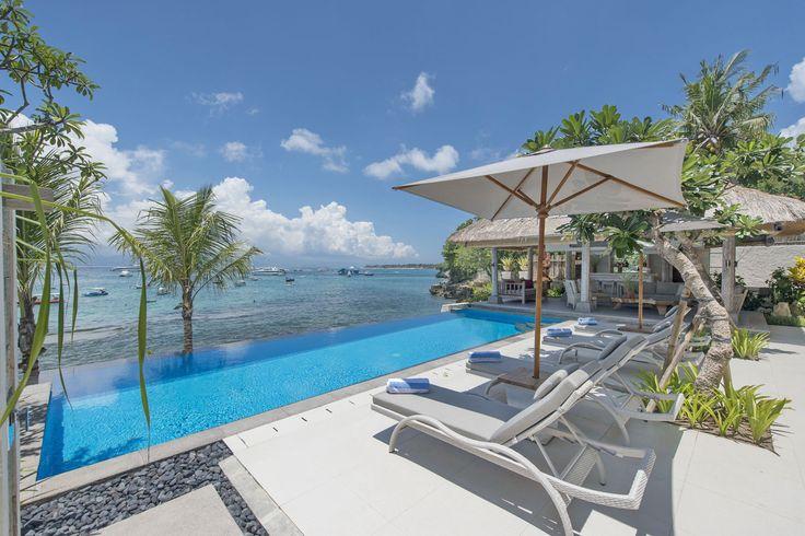 Villa Coral   4 bedrooms   Nusa Lembongan, Bali #swimmingpool #villa #bali #nusalembongan #ocean #mountain #view