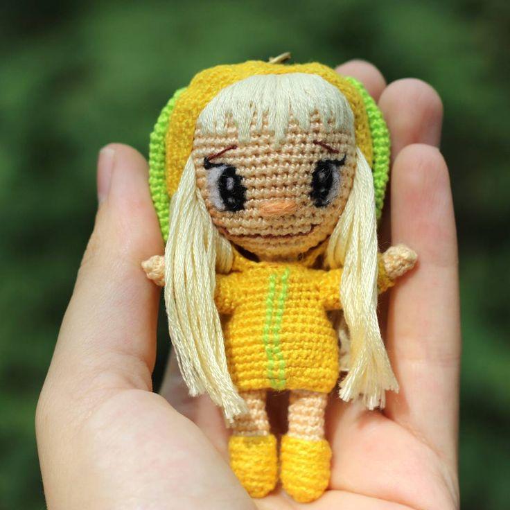#вязаная_кукла #кукла_крючком #куклавподарок #амигуруми #crocet #crocetdoll…