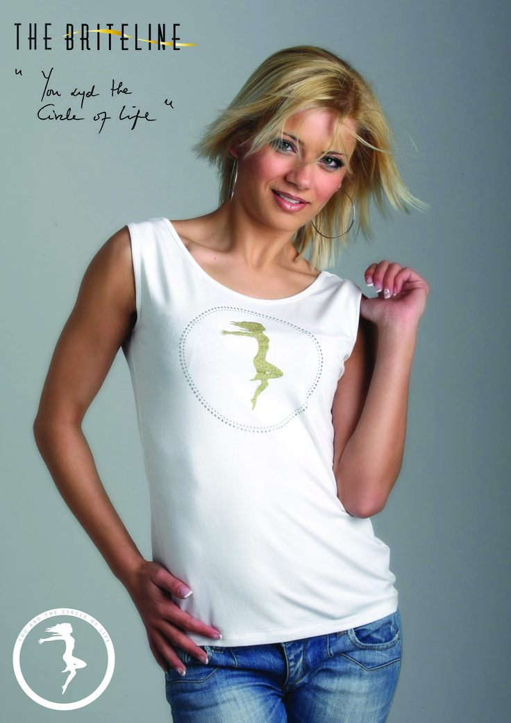 """TOU AND THE CIRCLE OF LIFE"" sleeveless T-shirt"