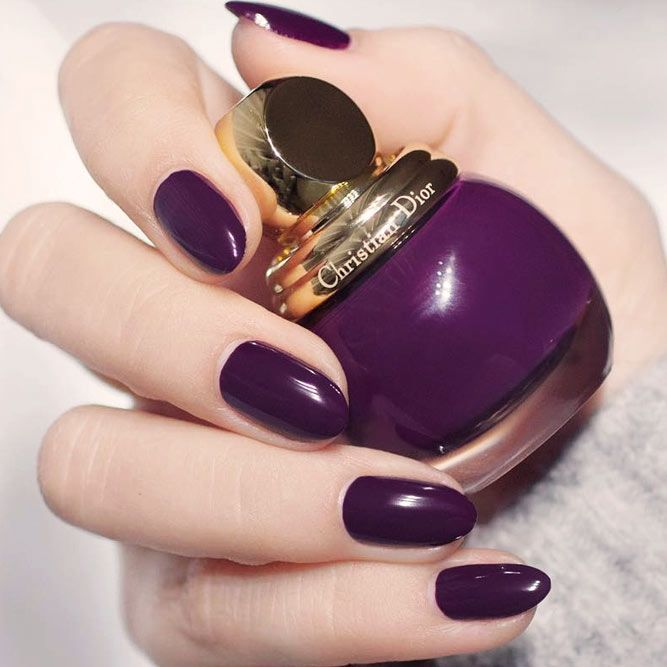 30 Sensational Winter Nail Colors To Warm Up Your Hands Nail
