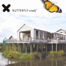 Butterfly creek.  Crocodiles, butterflies, train rides.