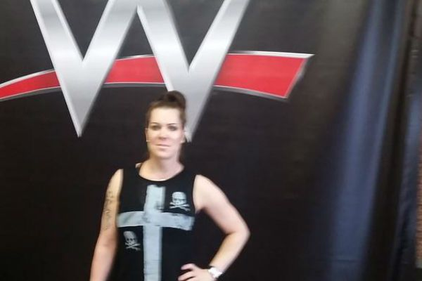 Photo Of Chyna At WWE Headquarters WWE  #WWE
