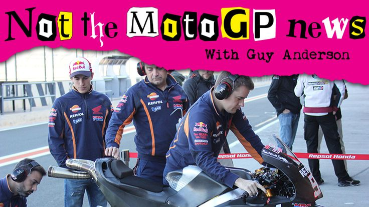 From Vroom Mag... NOT the MotoGP News: How do you find out if a girl is ticklish?  Give her a test-tickle
