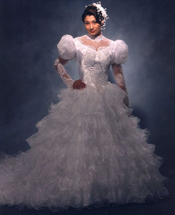 132 best 80s 90s wedding dresses images on pinterest short love junglespirit Choice Image