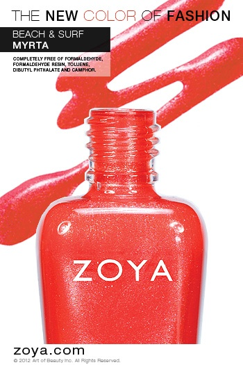 RE-PIN ME! Zoya Nail Polish in Myrta from the Surf Collection http://www.zoya.com/content/38/item/Zoya/Zoya-Nail-Polish-Myrta-ZP623.html?O=PN120521MN00144: When Color, Nailpolish, Summer Color, Nail Polish Zoya, Collection Www Zoya Com, Best Zoya Colors, Nice When