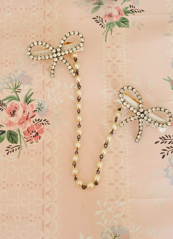 Handmade Vintage inspired sweater clips accessory