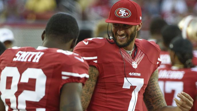 Reports surfaced on Thursday that Colin Kaepernick plans to stand for the National Anthem next season, after kneeling during the song for every game in the 2016 regular season.