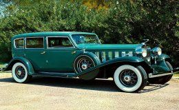 1932-Cadillac V16 452 B Sedan,  Maintenance/restoration of old/vintage vehicles: the material for new cogs/casters/gears/pads could be cast polyamide which I (Cast polyamide) can produce. My contact: tatjana.alic@windowslive.com