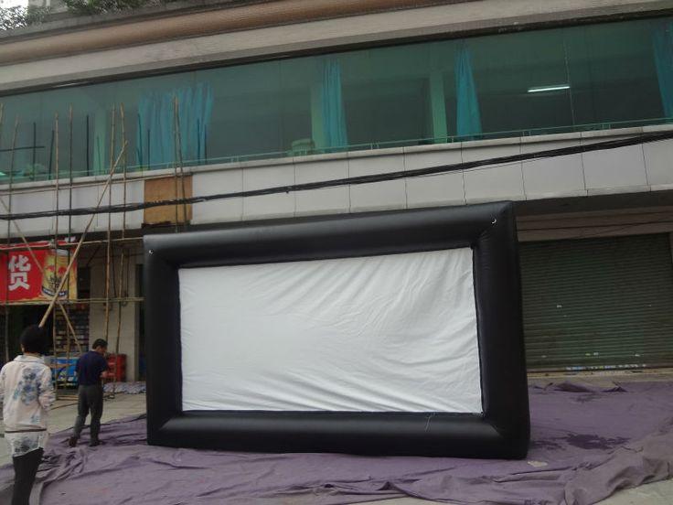 En plein air gonflable écran, Gonflable écrans de projection, Gonflable écran de projection arrière