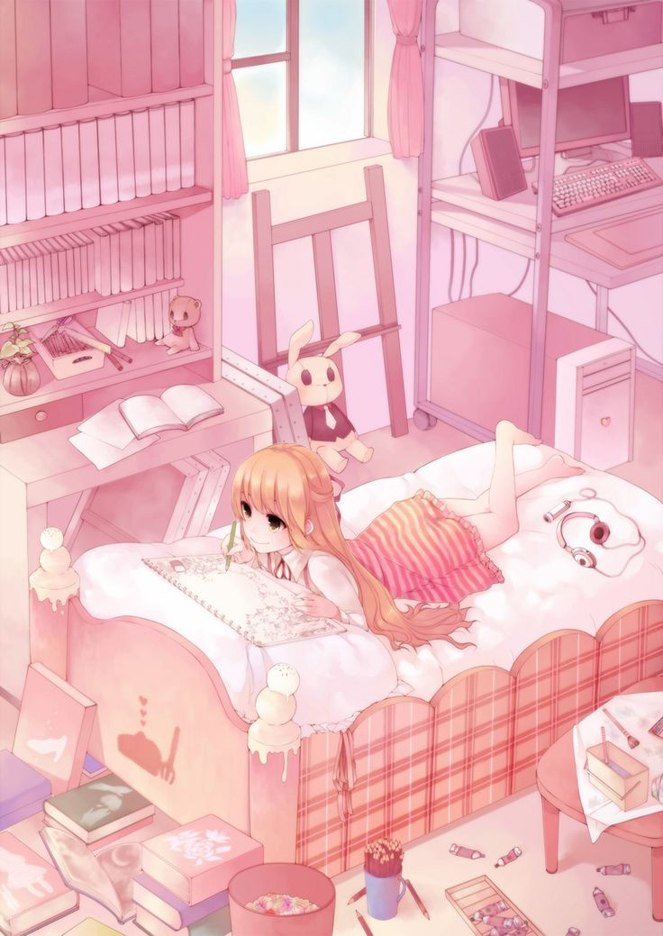 17 Best Images About Anime: Rooms On Pinterest