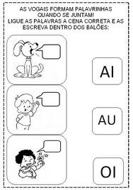 Atividades de alfabetizacao