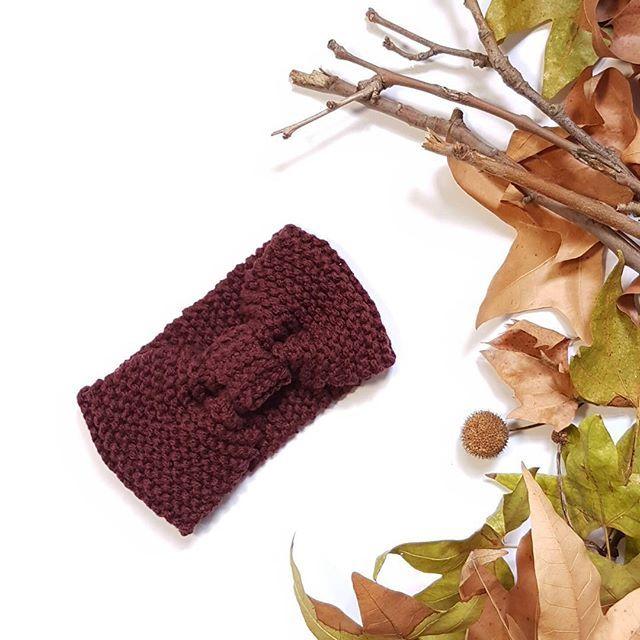 Fascia senza cuciture visibili  link in bio  #headband #fasciacapelli #fattoamano #fiocco #earwarmer #turbante #turban #wool #autumncolors #handmade #autumn #instamamme #im_crafty #dominohandmade #depop #bigcartel #creatorslane #womoms #instafattoamano #knitting #knitted #winteriscoming #winter  #hairturban