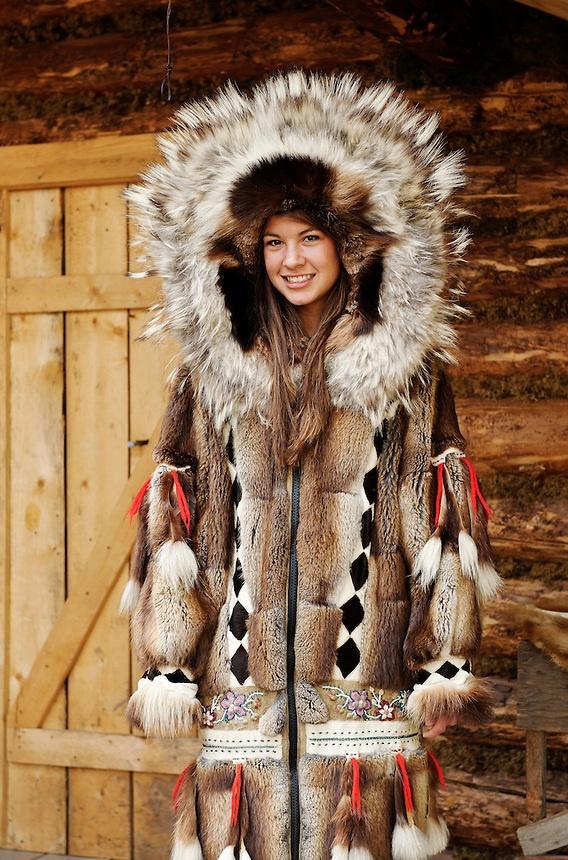 Fur Clothing Inuit Coat, Eskimo Coat Name