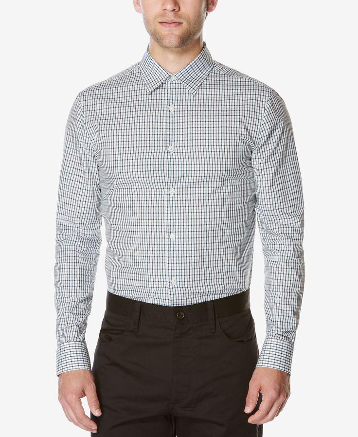 Perry Ellis Men's Clarkson Tattersall Shirt