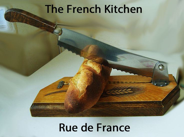 Vintage French Kitchen bread cutter