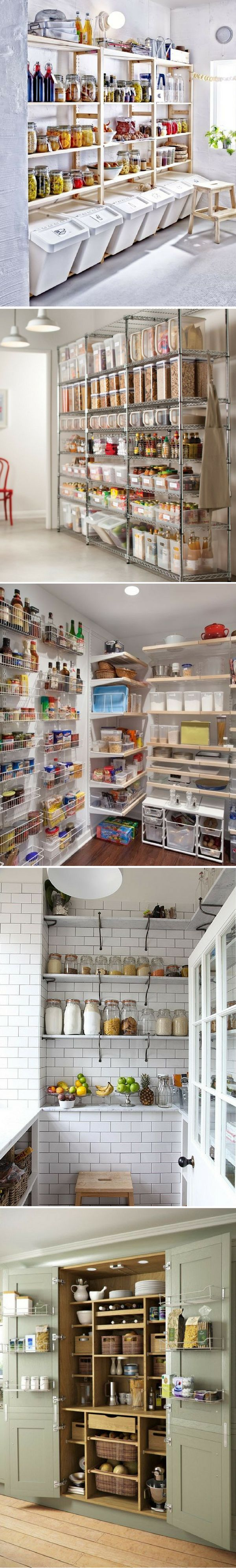 Les 25 meilleures id es de la cat gorie rangement de garage sur pinterest bricolagestockage de - Comment faire un garde manger ...
