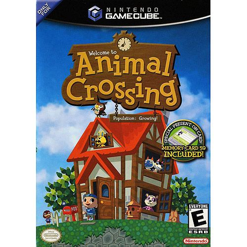 Animal Crossing on the Gamecube. (I always call the game Animal Planet by mistake.)