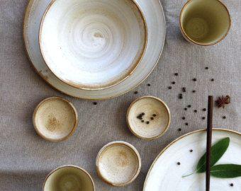 Ceramic dinnerware set, White dinnerware, dinner set, wedding gifts for couples