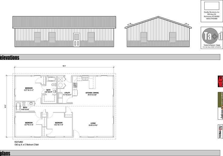 3b5e48d0b3119030a163d2510b9a4375--home-floor-plans-barn Ranch Home Plans Layout With Bed And Bath on
