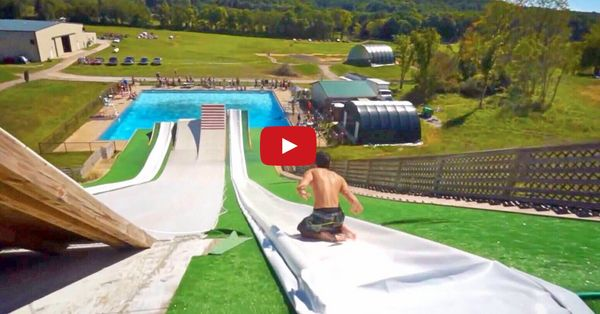 This Slip N Slide Puts All Other Slip N Slides To Shame. Whoa.