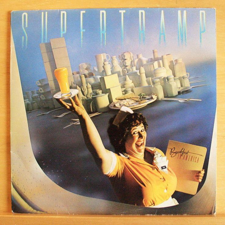 SUPERTRAMP - Breakfast in America - Vinyl LP Logical Song ...