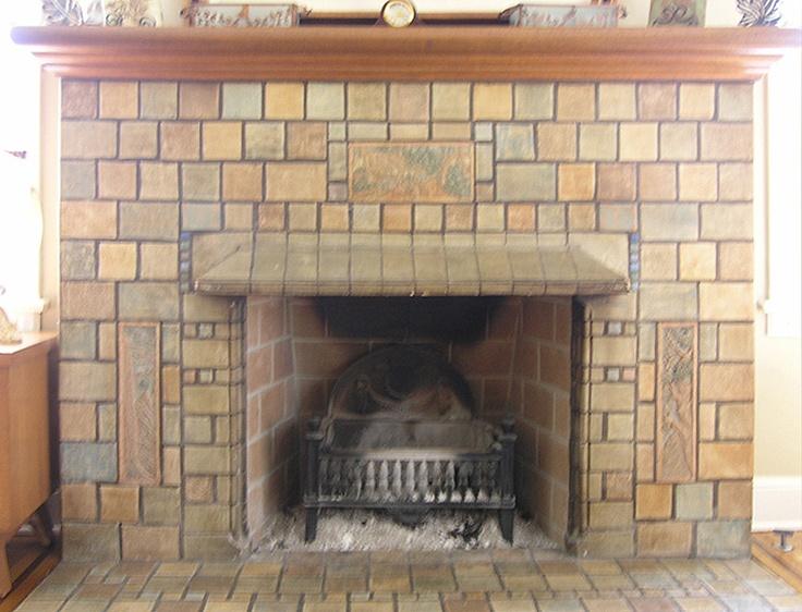 Batchelder Fireplace In Monrovia Batchelder Originals In