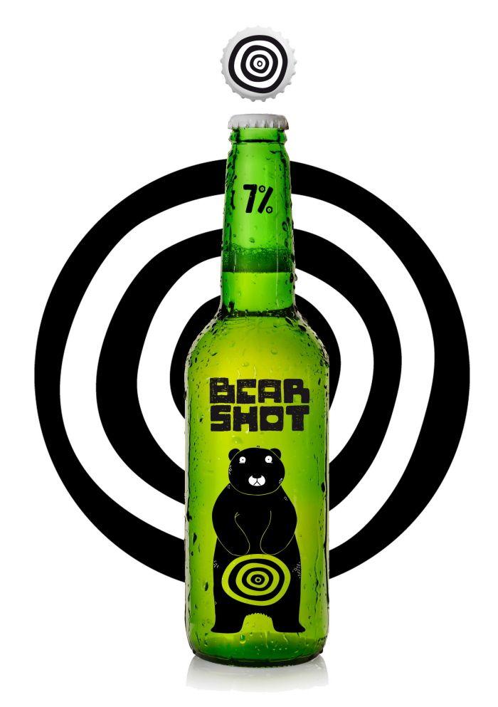 BEAR SHOT by Alexandra Deus at Coroflot.com Beer with extra shot of alcohol. PD