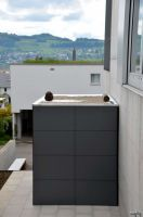 Eine neue Generation von Gartenhäusern erobert den Markt design@garten_@gart Schweiz Meisterschwanden Designgartenhaus flachdachgartenhaus Gartenhaus -garden house