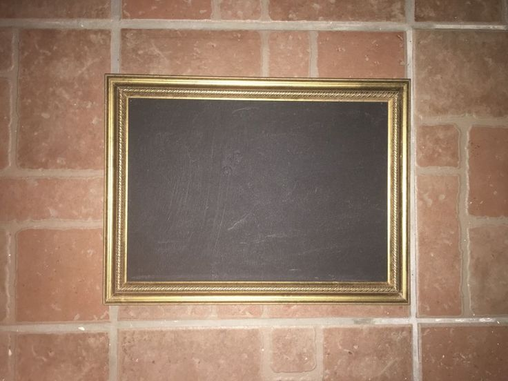 Vintage Frame Chalkboard Gold Home Decor Shabby Chic