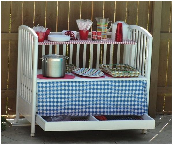 16 Small Diy Home Bar Ideas That Will Enhance Your Parties: 17 Best Ideas About Old Cribs On Pinterest
