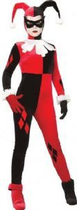 Harley Quinn (Batman)Fancy Dress Costume for Ladies R888102