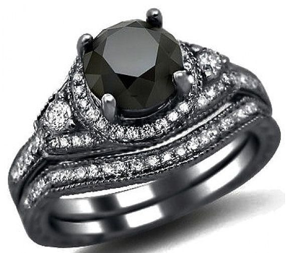 Kinda thinking I totally want to someday rock a non-traditional wedding ring. Love this.