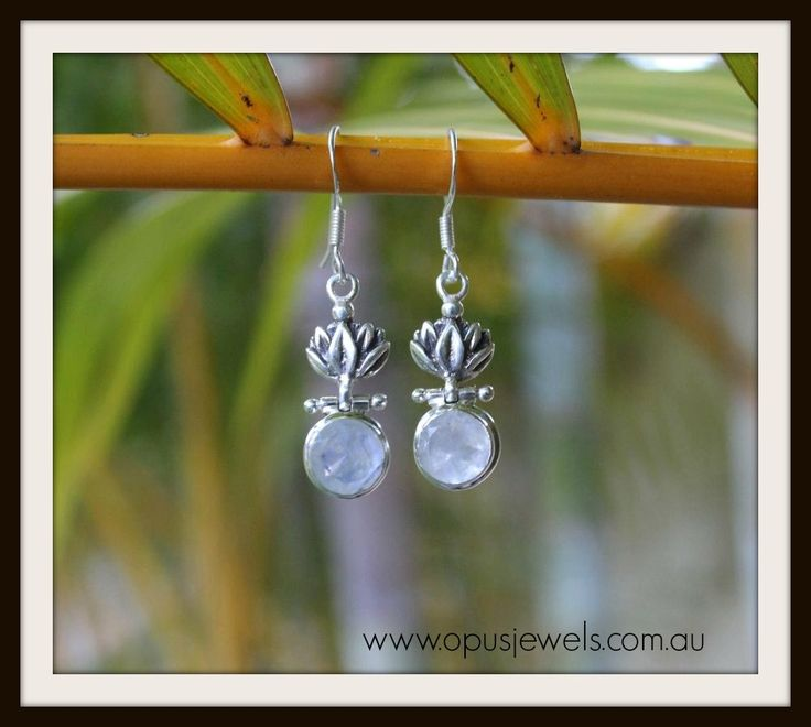 Rainbow moonstone magic!  Glam up and accessorise for an ever changing rainbow feel.  www.opusjewels.com.au