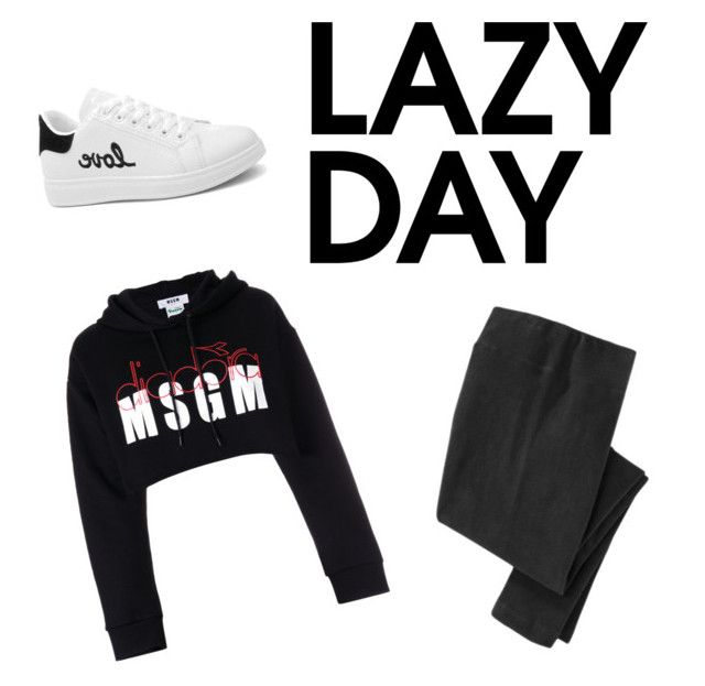 """""""Lazyy"""" by biudinca on Polyvore featuring MSGM"""
