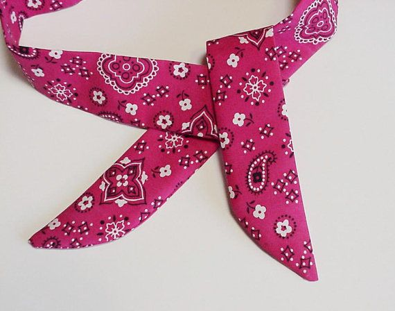 Cooling Bandana Heavy Duty Pink Neck Cooler Stay COOL Tie Wrap Body Head Heat Relief Cooling Bandana iycbrand on Etsy, $12.99