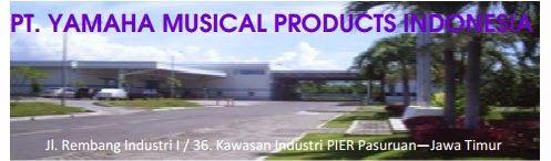 Lowongan Kerja Pasuruan PT Yamaha Musical Products Indonesia Oktober 2014