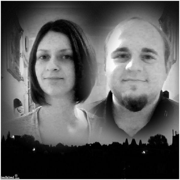 dvc lovers black&white sunset
