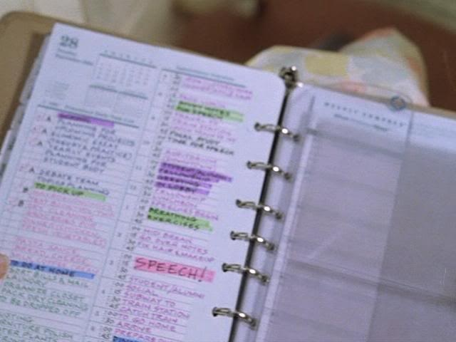 Franklin planner from New York Minute