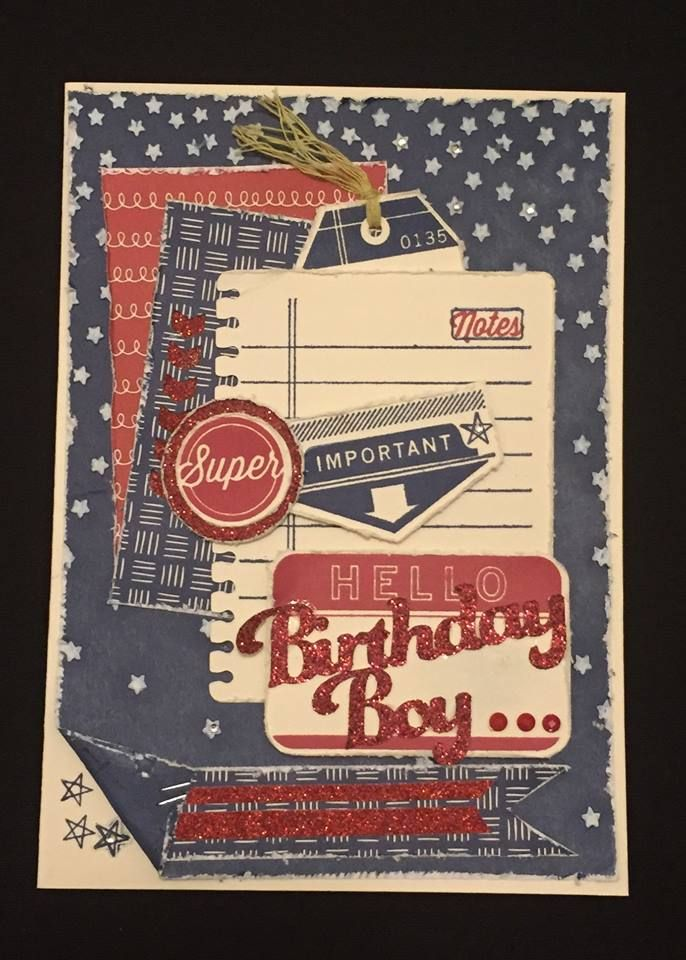 Crafty Happy : July SOTM Blog Hop - From the Notebook