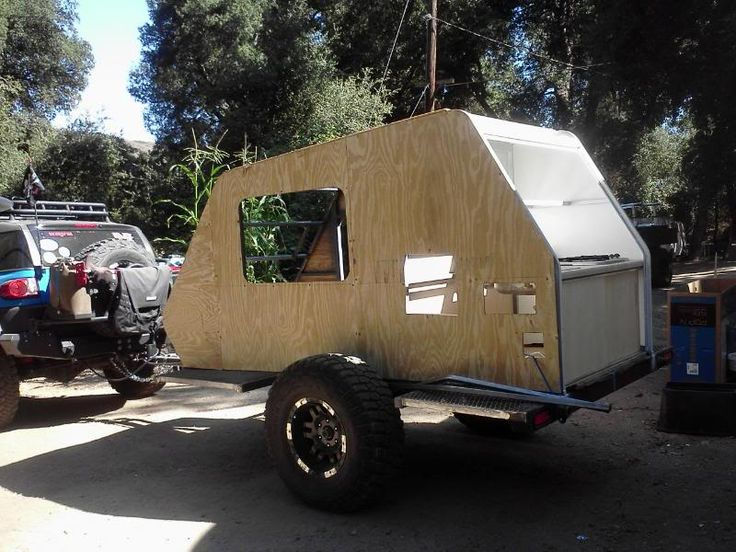 Skersfan Shuttle Pod Trailer Box Camp Trailers Fly Casting And Camping