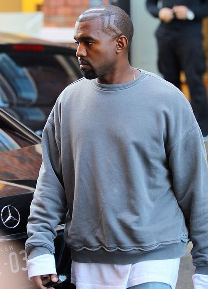 Kanye West's New Haircut