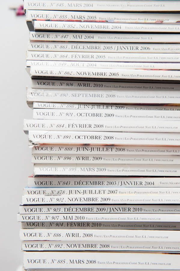 White Magazine backs