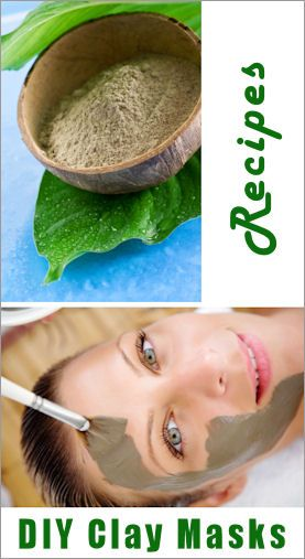 How To Make Your Own Clay Masks: Homemade Faces Masks, Diy Clay Masks, Diy Clay Recipes, Homemade Clay Masks, Diy And Clay Faces Masks, Spa Recipes, Diy Clay Faces Masks, Homemade Hair Masks Recipes, Clay Faces Masks Recipes