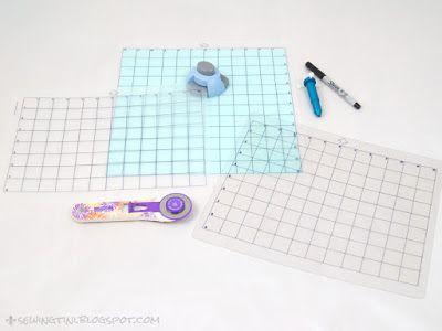 Sewing Tini: Tinis Plottertutorials - Folge 13 - Schneidematte selbstgemacht