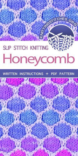 Honeycomb I Will Have A Knitting Room Slip Stitch Knitting