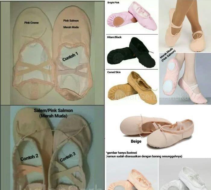 Contoh Ukuran Sepatu Di 2020 Balet Sepatu Balet Sepatu