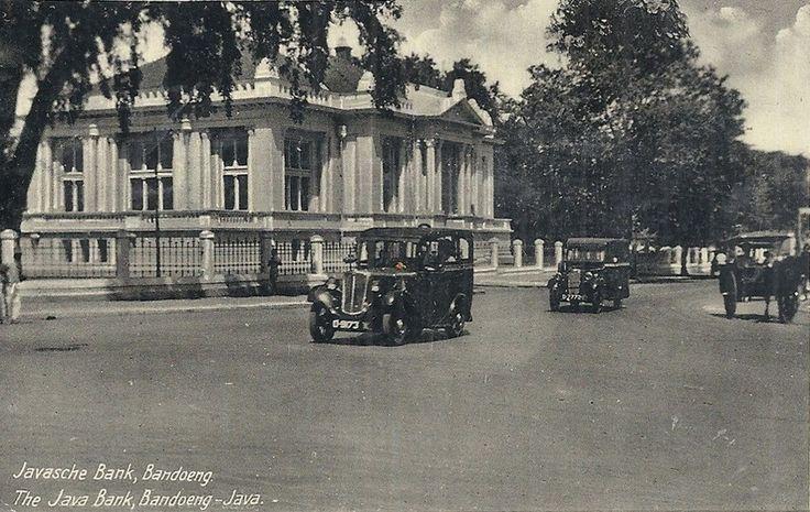 BANDUNG HERITAGE. Javasche Bank Bandung (Bank Indonesia sekarang) tahun 1925-1955