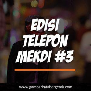 Gambar Kata Lucu Bahasa Sunda Bergerak, edisi telepon mekdi #3