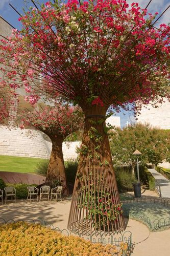 Rebar tree - inspired by Getty Centre la